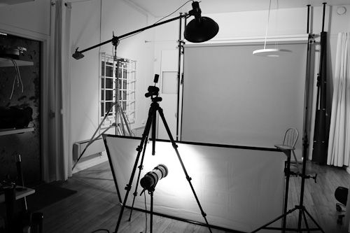 Small Photography Studio Set Up | behind-the-scenes-photo-studio-beautydish-group-shot