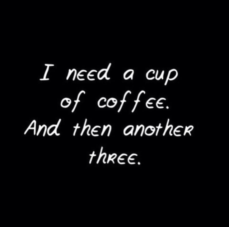 More #coffee please...