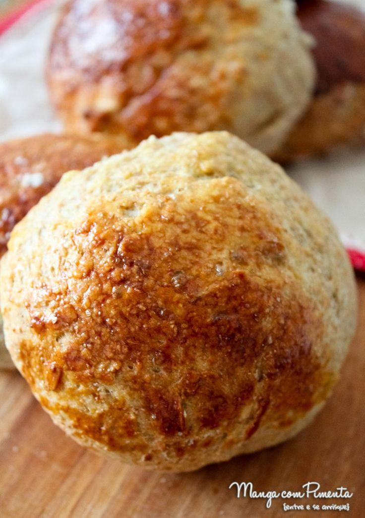 Receita de pão integral de batata doce