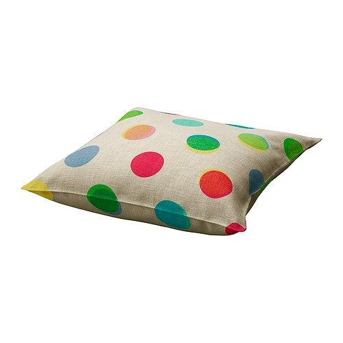 Ooh... these Ikea cushion covers are gorgeous!!: Pillows Covers, Pencil Boxes, Polka Dots, Ikea Ps, Cushions Covers, Pencil Cases, Ps 2012, Throw Pillows, Kids Rooms