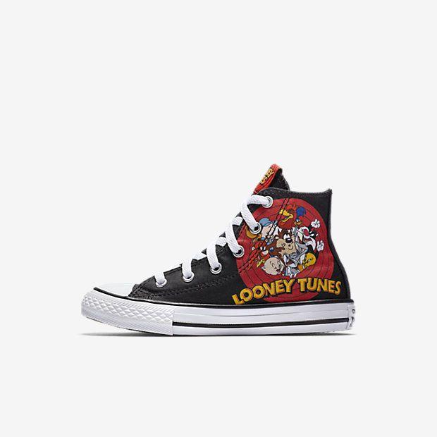 bb72f4d8c27 Converse Chuck Taylor All Star Looney Tunes High Top Little Big Kids  Shoe