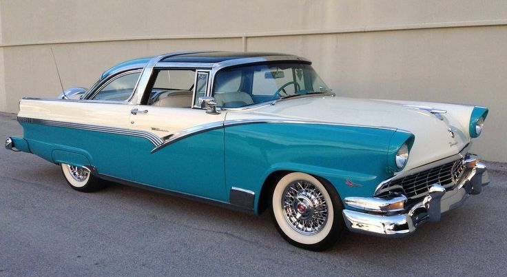 1956 Ford Crown Victoria Skyliner http://www.musclecarmadnessauction.com