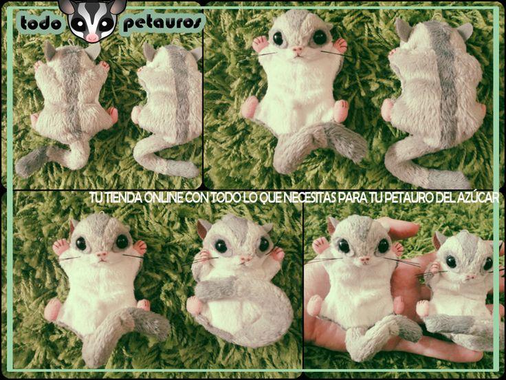 Peluches de petauro del azúcar en www.todopetauros.com #petauros #petauros del azucar