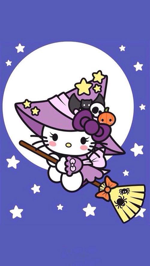 hello kitty halloween wallpapers iphone