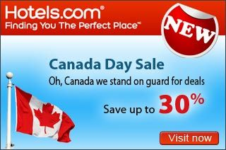 Hotels Canada - Save up to 30%  NEW! Hotels.com Canada:  Canada Day Sale! Save up to 30%  http://www.groupvaudreuil.com/all-deals/hotels-canada-save-up-to-30