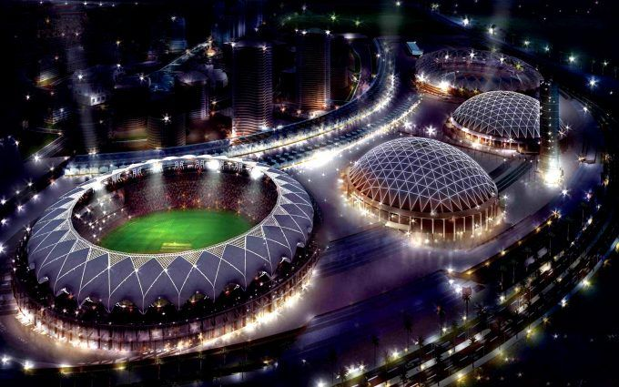 Cricket Stadium Drone Hd Wallpaper Hd Wallpaper 4 Us Hd