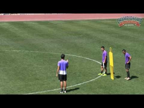Soccer Conditioning Drills and Games with a Ball - Ben Paneccasio - YouTube