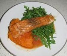 Recipe Chargrilled Salmon with Maple Syrup Marinade & Sweet Potato Mash by Samantha Needle - Recipe of category Main dishes - fish