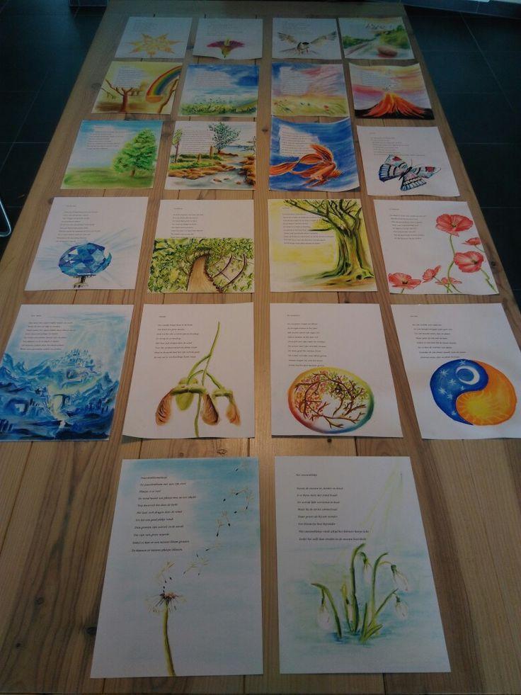Getuigschriften Steiner school klas 3 door Lieke Winterwerp
