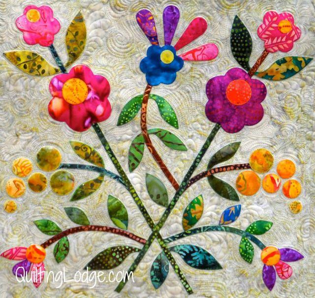 Spring Bouquet deky Hotové - Orchid Owl Přikrývky