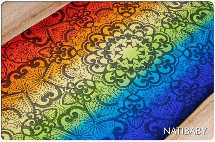 Natibaby Mandala Sunrise draagdoek