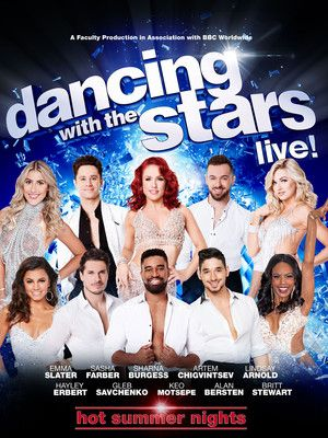Dancing With the Stars at Long Beach Terrace Theater