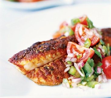 ... catfish spicy cornmeal crusted catfish blackened catfish fajitas at