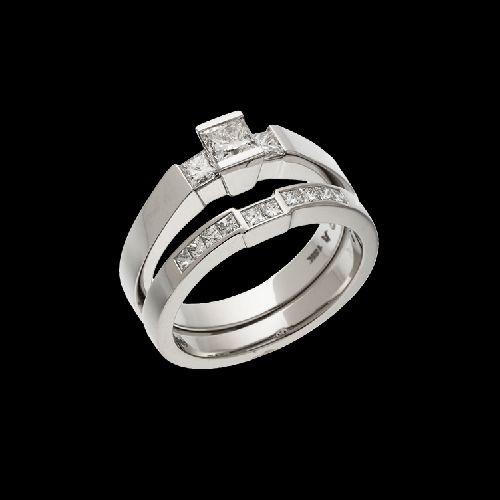 Ventana Luminaire Diamond Ring