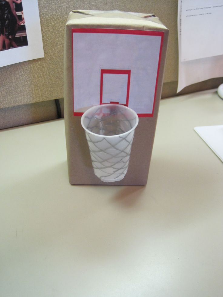 Mini Basketball Game.  CSLP Children's Manual, p. 188.   Craft created by Margaret Barr.  Collaborative Summer Library Program, http://www.cslpreads.org/.