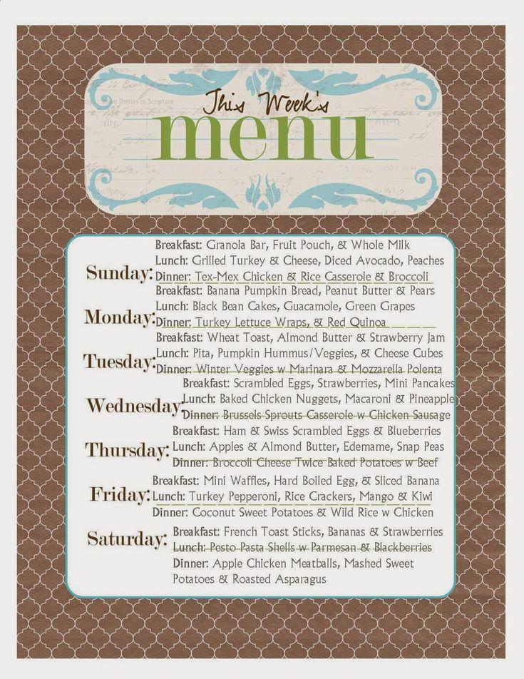 Best 25+ Toddler menu ideas on Pinterest Baby meals, Easy meals - dinner menu