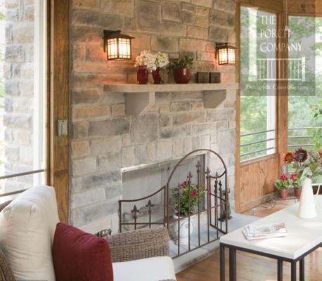 Fireplace Facade Ideas : Stone Facade Fireplace Design Ideas  Home  Pinterest