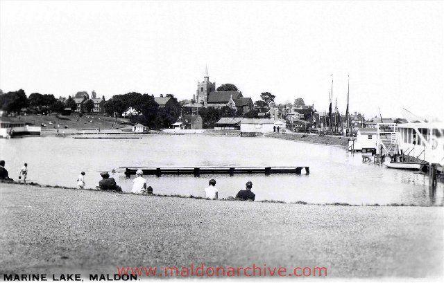 Promenade, Marine Lake & Hythe, Maldon