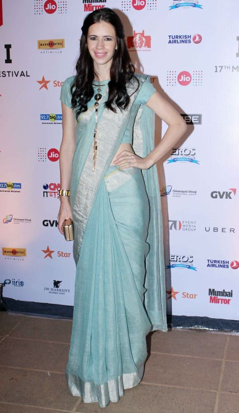 Kalki Koechlin wearing Anavila at MAMI 2015