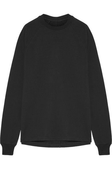 Rick Owens - Cotton-jersey Sweatshirt - Black