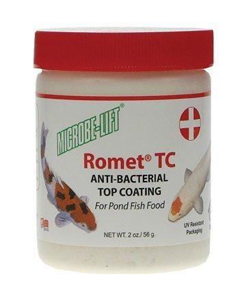 Microbe-Lift Romet TC Anti-Bacterial Top Coating for Fish Food