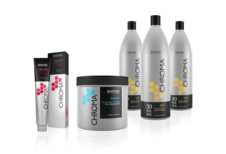 CHROMA Professional Hair Color #packaging #pack #diseño #design #graphicdesign #diseñográfico #branding #brand #marca -- http://www.disparoestudio.com/proyecto/chroma/