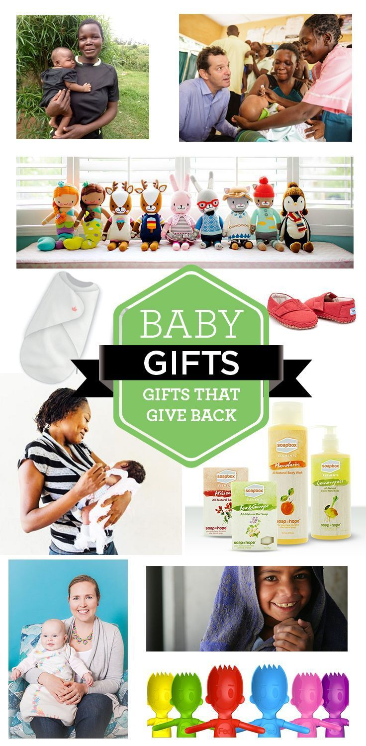 Baby Gifts That Give Back