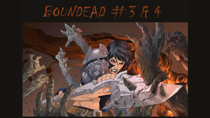 Boundead Issues 3 & 4 by Mel Rubi —Kickstarter