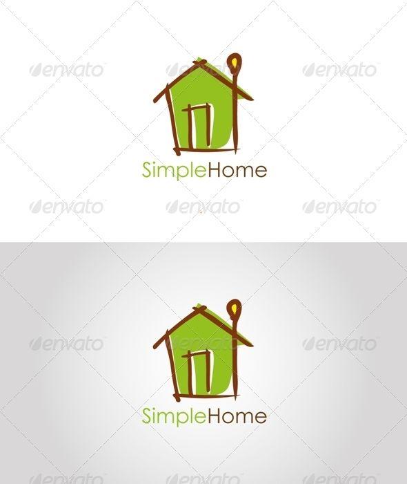 Cheap Simple Home Logo Logo Design With Home Design Templates.