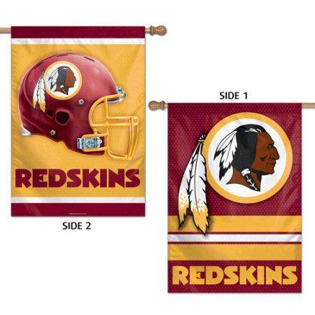 """Washington Redskins Logo 28"""" x 40"""" House Flag"""
