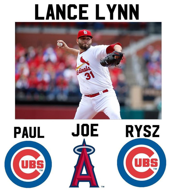 PJR FA prediction 9: Lance Lynn 2017 stats: 11-8 record 3.43 ERA 153 strikeouts  Comment where you think Lance Lynn will end up below  #mlb #giants #pirates #cubs #nationals #mets #braves #baseball #beisbol #yankees #royals #tigers #orioles #bluejays #redsox #dodgers #rangers #astros #athletics #worldseries #reds #whitesox #twins #mariners #angels #marlins #cardinals #rangers #phillies #brewers #indians