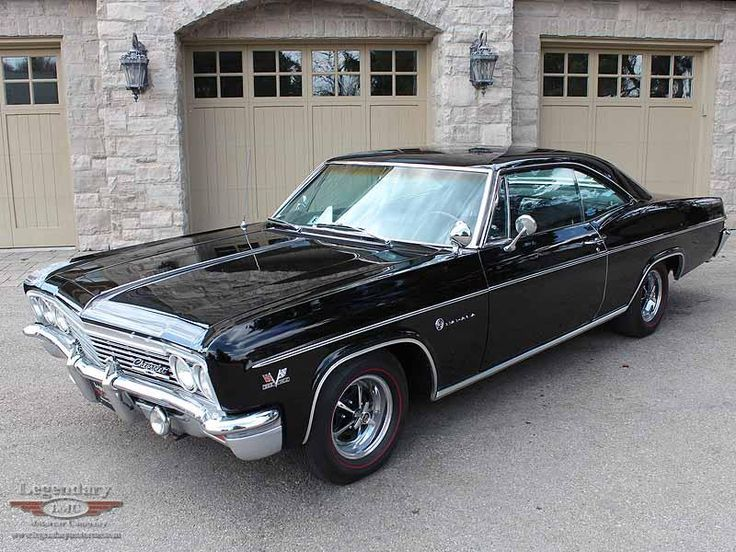 "1966 Chevrolet Impala SS 396, not quite ""Baby"" from Supernatural, but her slightly older sister."