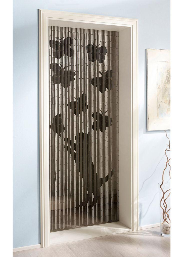 Tenda di bambù «Gatto e farfalle» Nero/bianco - bpc living è ordinabile nello shop on-line di bonprix.it da ? 17,99. Per tenere lontano insetti e sguardi ...