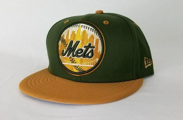 59330c34c2366 New Era MLB New York Mets Olive Green   Wheat Nubuck 9Fifty Snapback ...