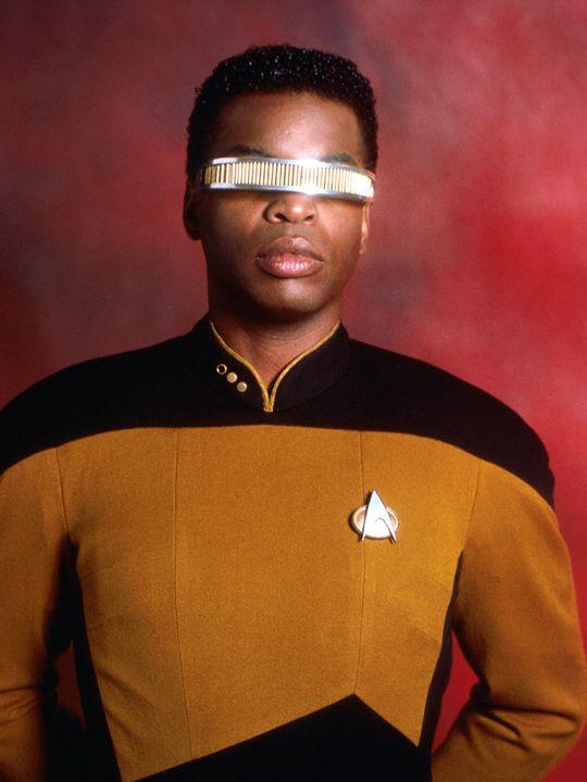 Star Trek: The Next Generation  LeVar Burton as Lt. Geordi La Forge