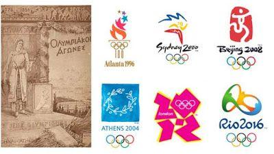 Logo Rápido: Olimpíadas de Verão: Logotipos dos Jogos Olímpicos...