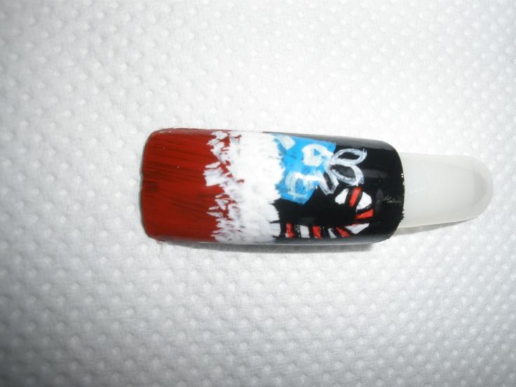 Χριστουγεννιάτικο σχέδιο για manicure_No4