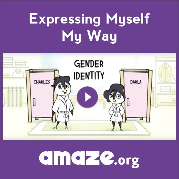 Learn About Gender Identity Video Education Gender Identity Gender Identity Identity Gender Nonconforming