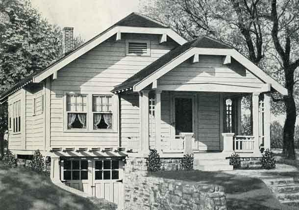 1926 standard house plans the warren house exteriors for The warren house
