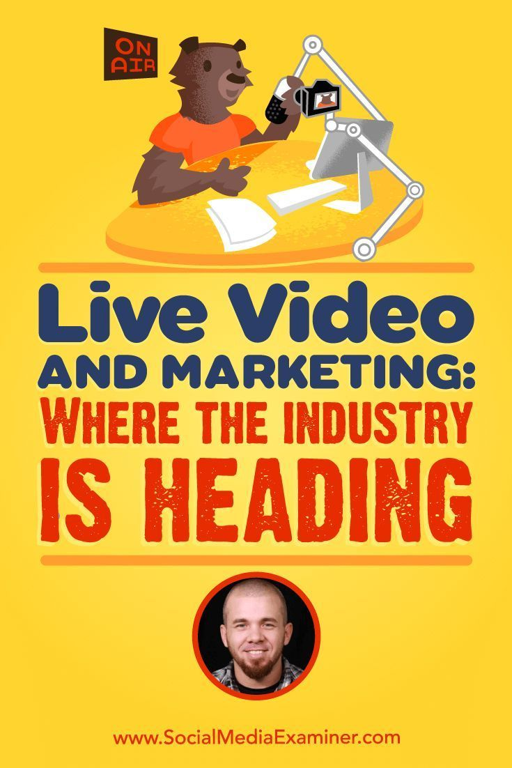 Live Video and Marketing: Where the Industry Is Heading featuring insights from Brian Fanzo on the Social Media Marketing Podcast. Confira as nossas recomendações!