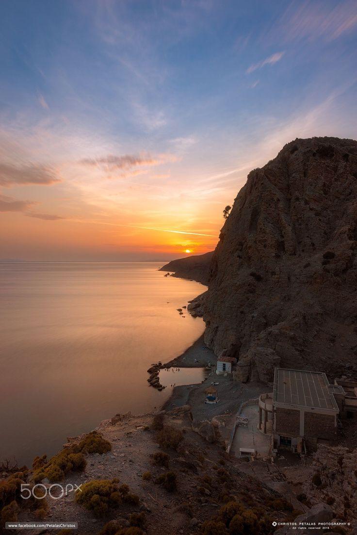 Therma beach sunset, Kos, Greece