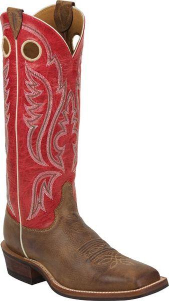 Bent Rail By Justin Boots Arizona Mocha Mens Cowboy Boot
