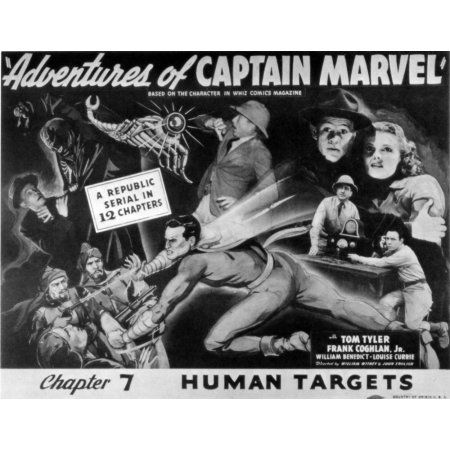 The Adventures Of Captain Marvel Canvas Art - (28 x 22)