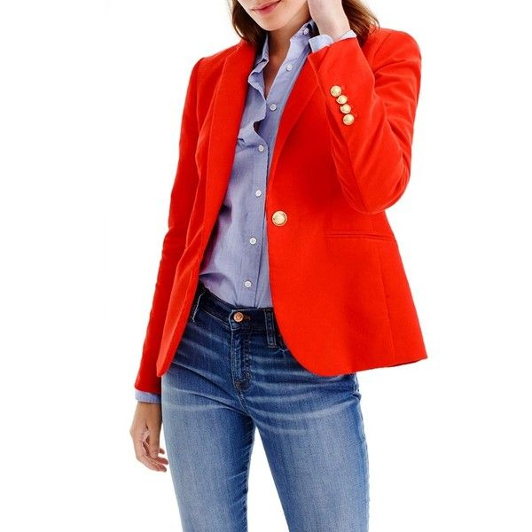 Womens Red Blazer Jacket | Jackets Review