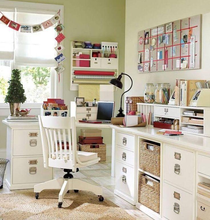idées sur les meubles de bureau à la maison par Pottery Barn