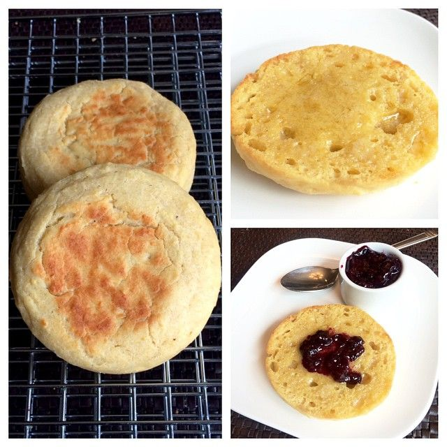 Store bought or homemade?!?! Can you tell the difference? These are my @ottos_cassava_flour English Muffins which are grain/nut/dairy free - and some homemade blueberry preserves - but I bet you wouldn't know they didn't come out of a package  And as promised - the recipe is in the comments below! (Inspiration came from @lexiscleankitchen sandwich rolls)