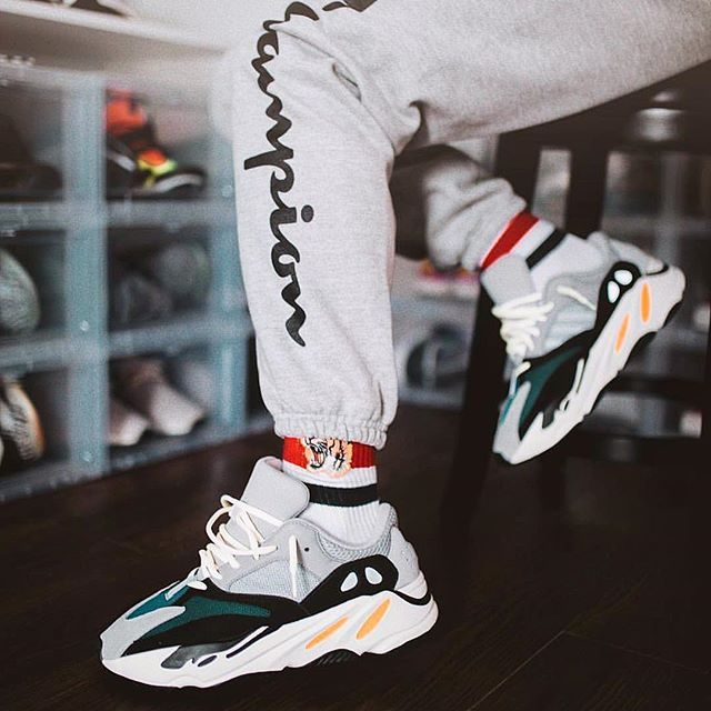 a3c783e36651  TodaysKicks     k2sneaks is too cozy in the adidas Yeezy Boost 700 Wave  Runner