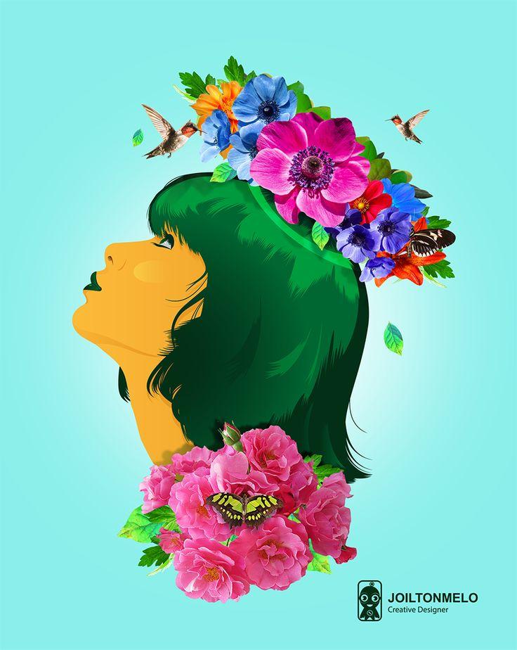 Princess  of Nature - Estampa
