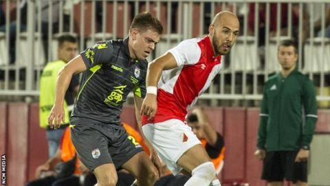Europa League: Gap Connah's Quay v FK Vojvodina (Thu)