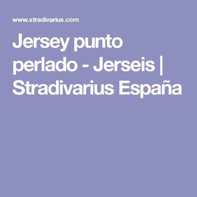 Jersey punto perlado - Jerseis | Stradivarius España